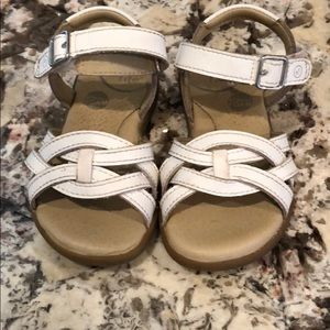 Toddler Stride Rite size 6W white sandals